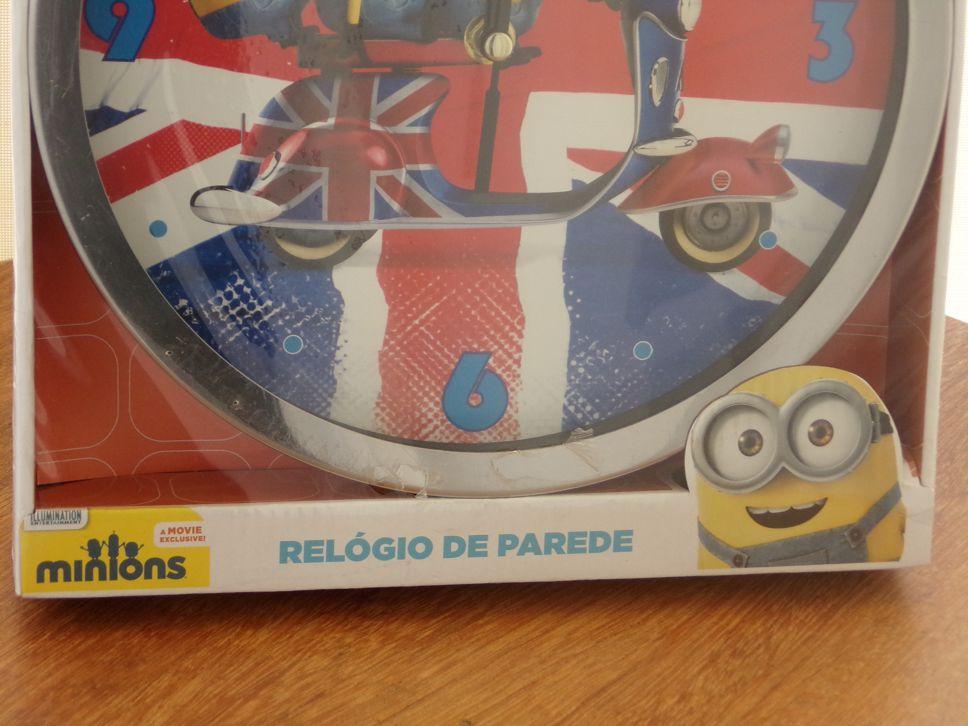 RELÓGIO DE PAREDE INGLES - MINIOS