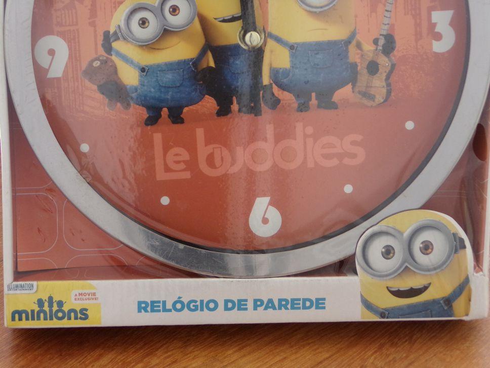 RELÓGIO DE PAREDE LE BUDDIES - MINIONS