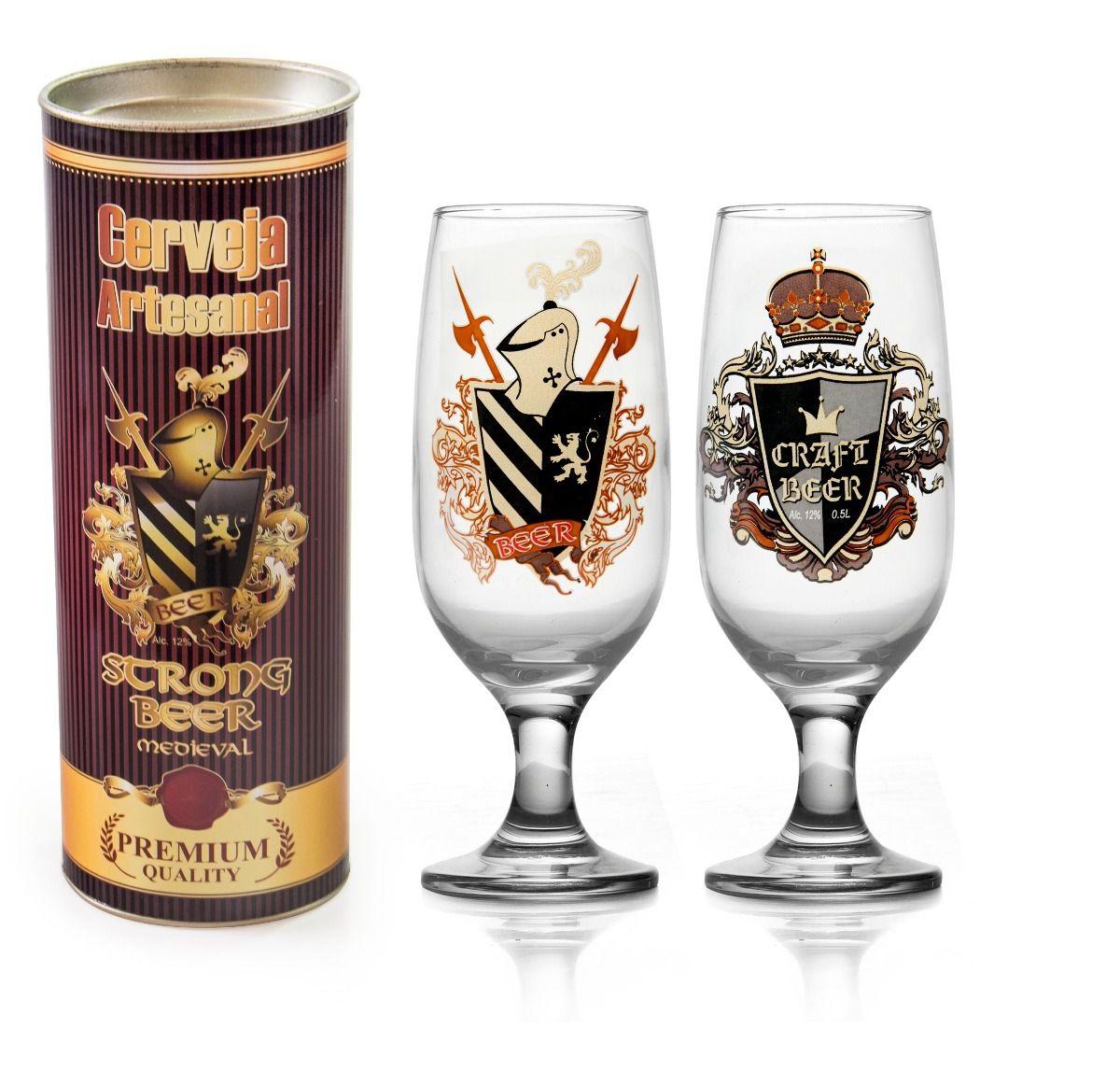 Taça Floripa Rótulos Cerveja Artesanal + Tubete