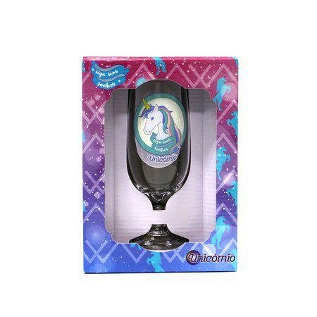 Taça Floripa Unicórnio + Caixa de Presente