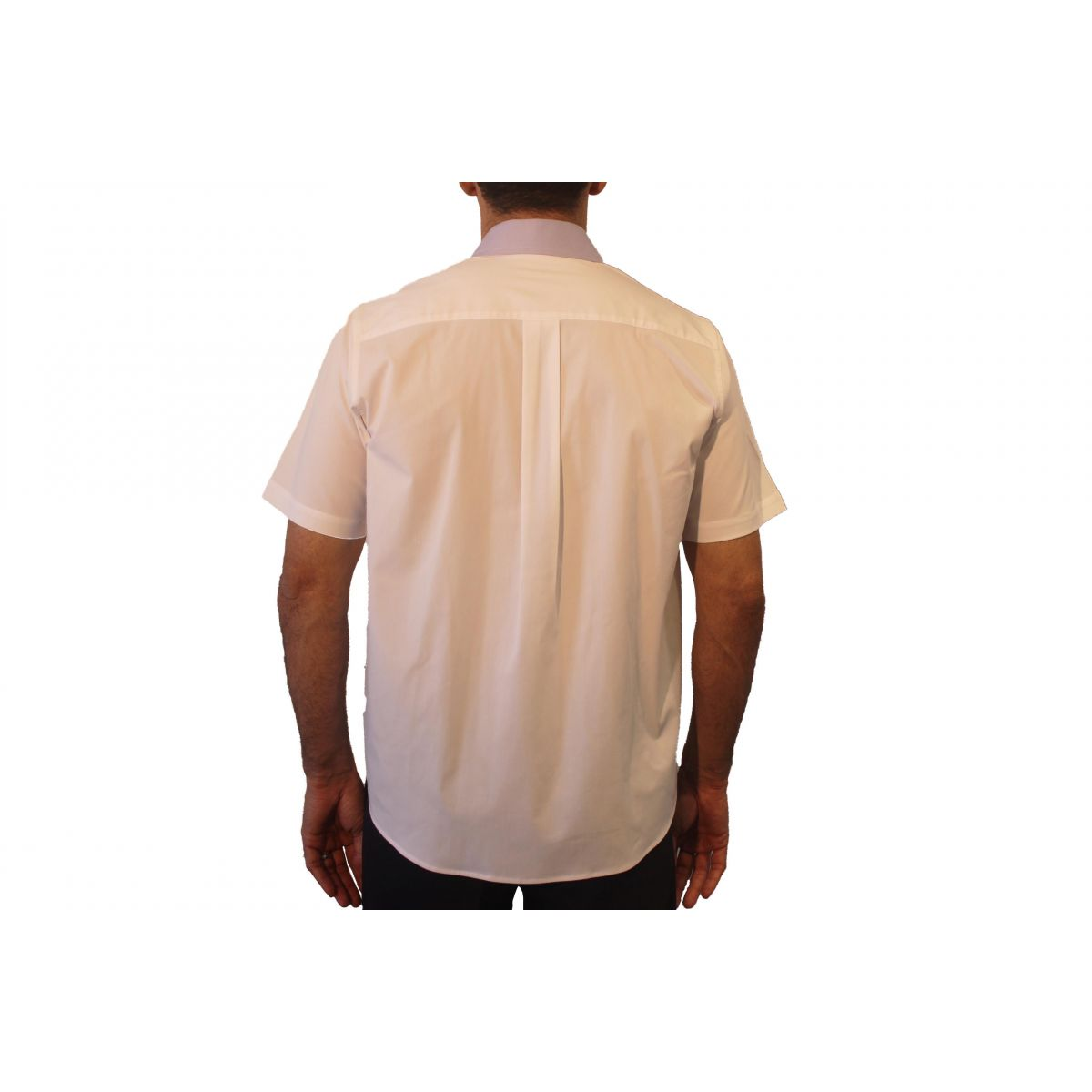 Camisa Social Masculina Manga Curta  - Uniformes Odontoclinic