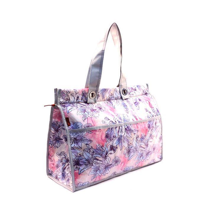 Bolsa Térmica Lavanda | floral lilás