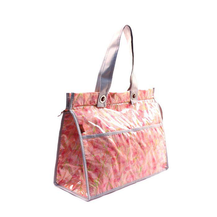 Bolsa Térmica Lavanda | floral rosa
