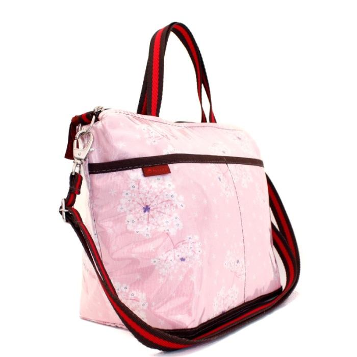 MIA | floral rosa cotelê