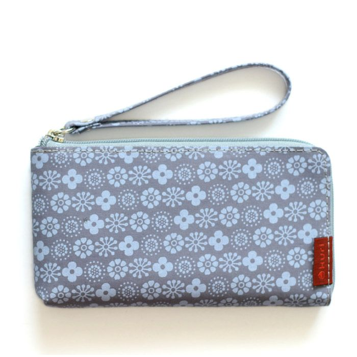 porta-celular MOBS | floral - azul