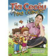 DVD Tia Cecéu Canta Para Crianças Vol. 1