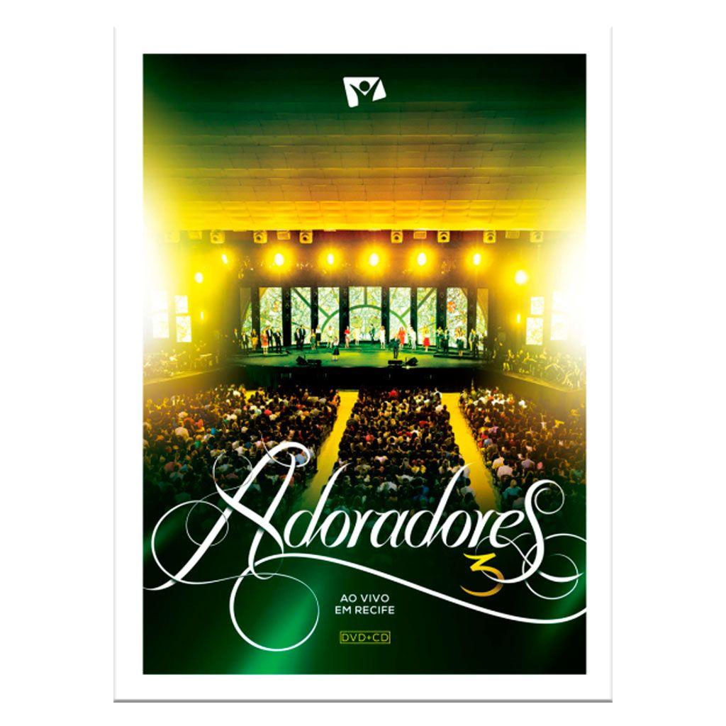 Adoradores 3 - DVD + CD
