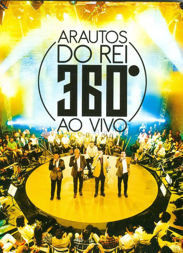Arautos do Rei - 360° Ao Vivo - DVD + CD