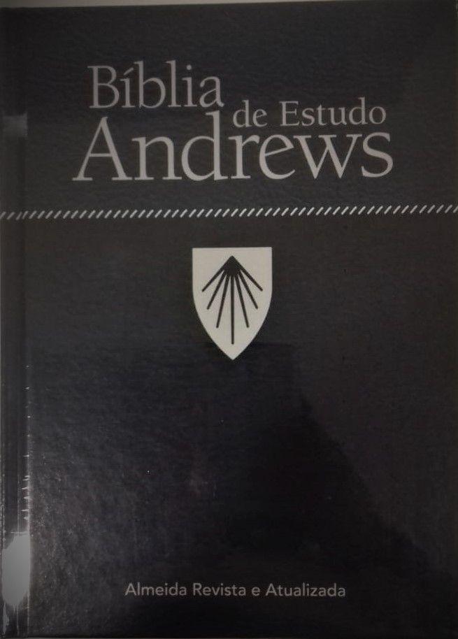 Bíblia de Estudo Andrews - Capa Dura