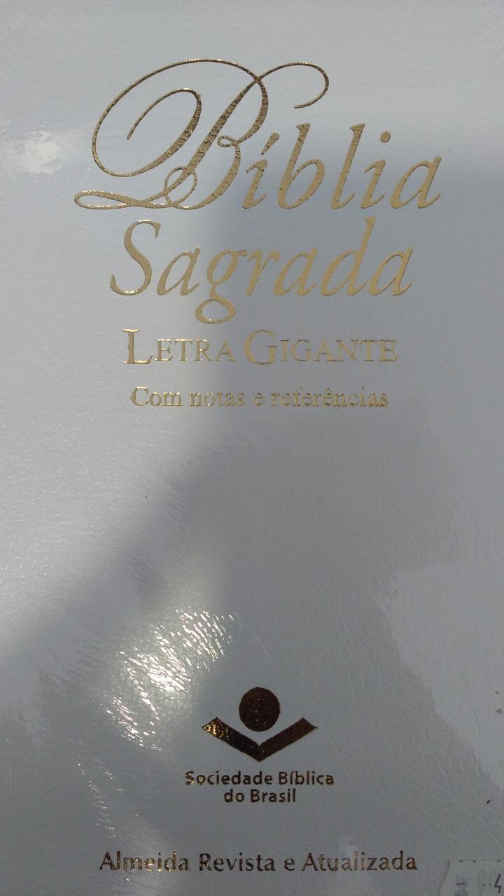 Biblia Sagrada - Letra Gigante  - Branca
