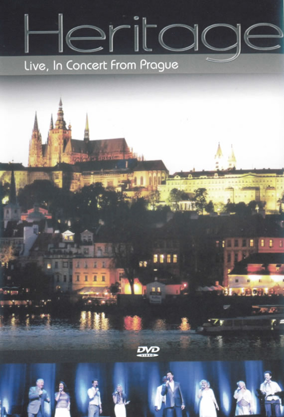 DVD Heritage Live, In Concert From Prague