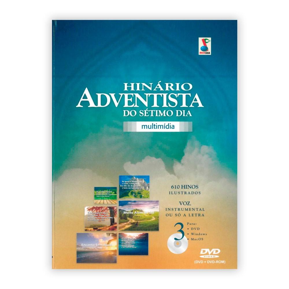 DVD Hinário Adventista Multimídia e Interativo