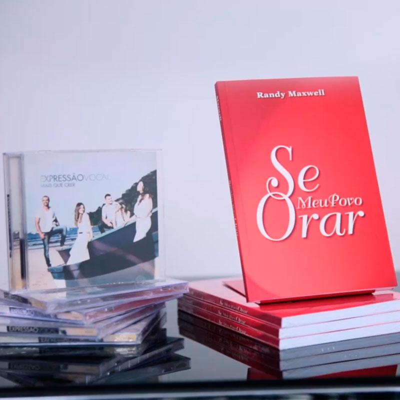 Kit Livro: Se Meu Povo Orar  + CD Mais Que Crer (Expressão Vocal)