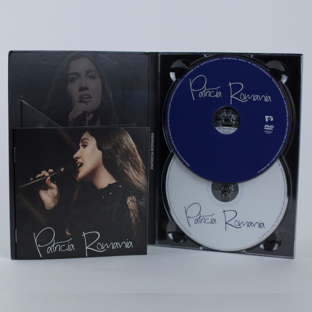 Patricia Romania - DVD + CD