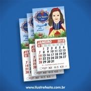 Fotoimã com calendário