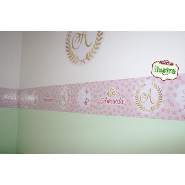Faixinhas adesivas para parede