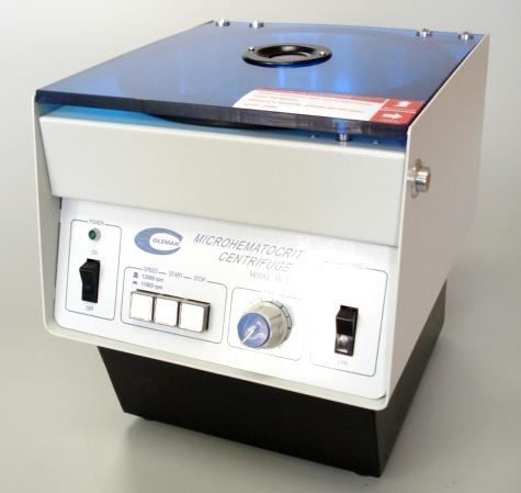 CENTR�FUGA MICRO HEMAT�CRITO COLEMAN SH-120-1
