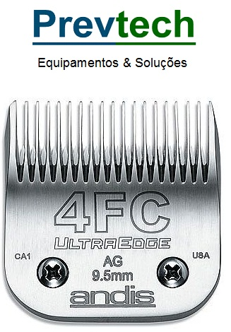 LAMINA Nº 4 F 9.5 MM ANDIS ULTRA EDGE