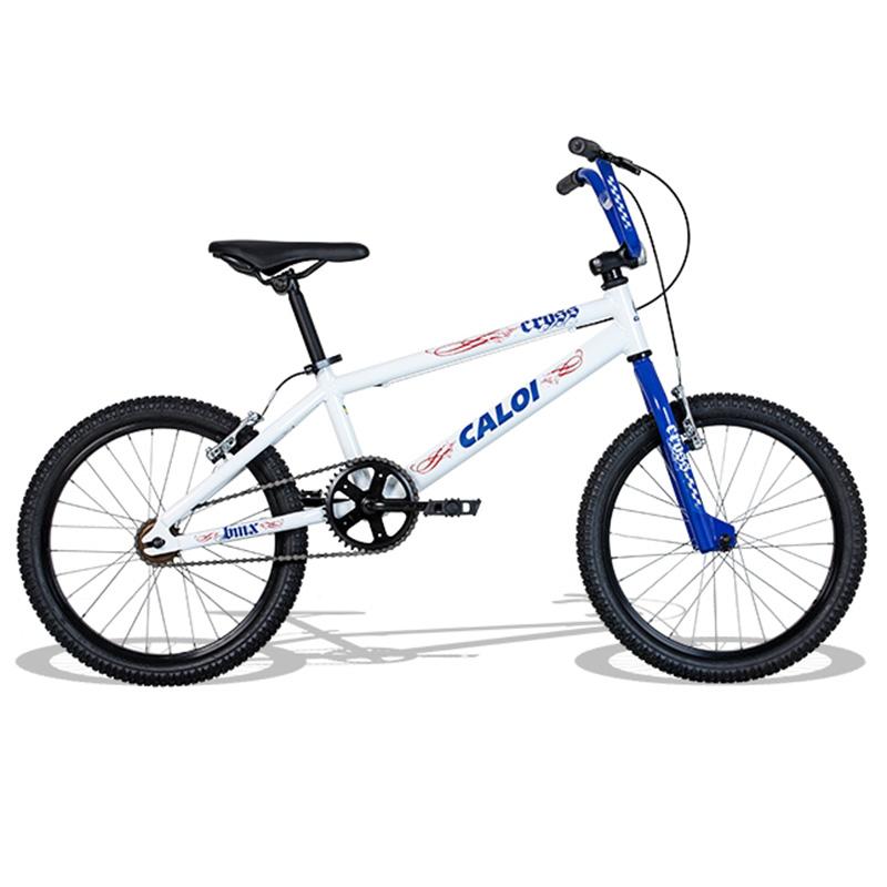 Bicicleta Caloi Cross Aro 20 Branca