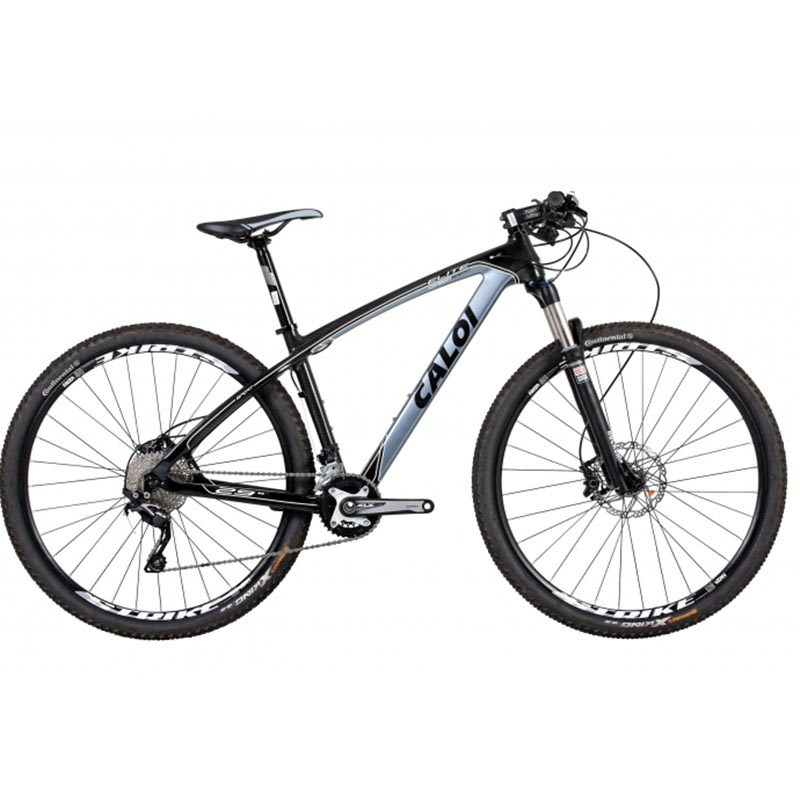 Bicicleta Caloi Elite Carbon Sport Preto 2017