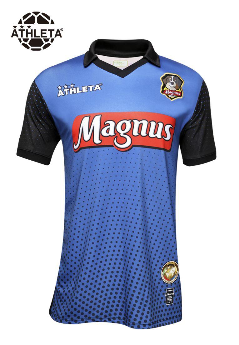 Camisa Oficial Magnus Goleiro Azul 2019