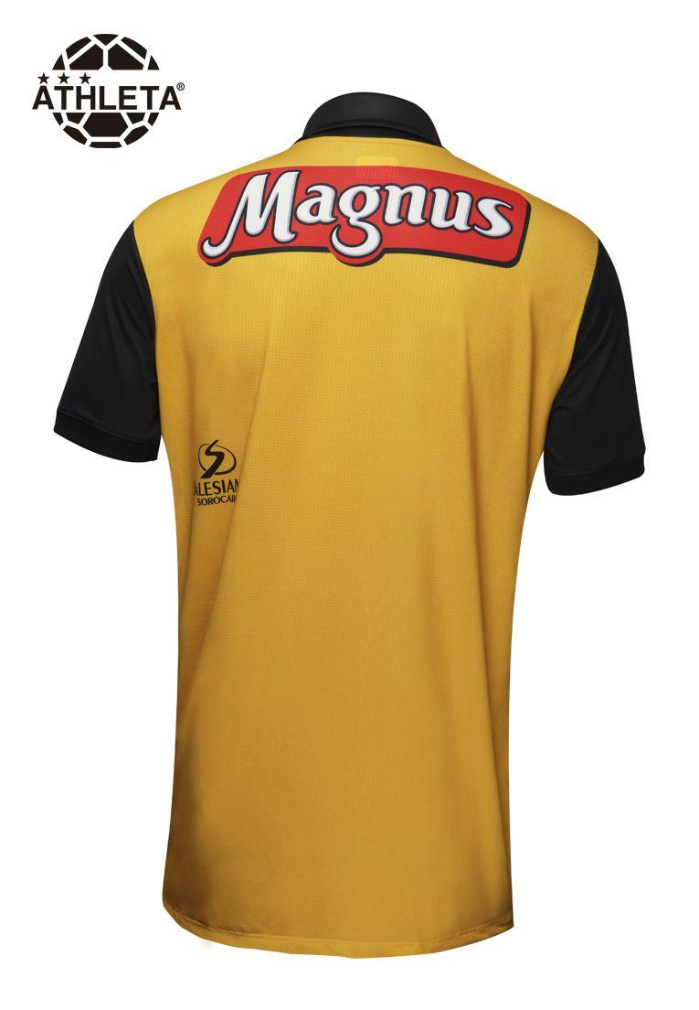 Camisa Oficial Magnus 2019 Amarela