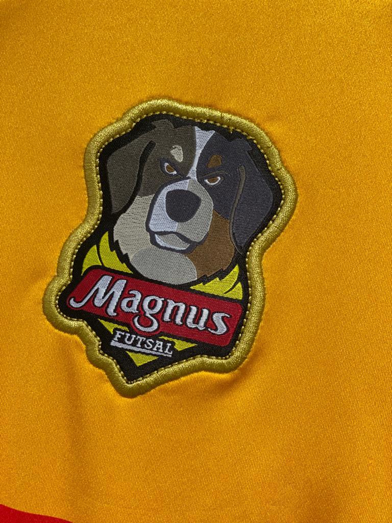 Camisa Magnus Oficial 1 2020 - Amarela