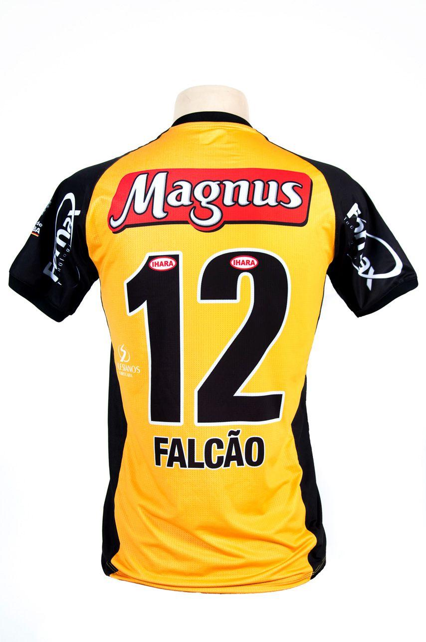 Camisa Oficial Magnus Infantil 2018 Amarela Falcão