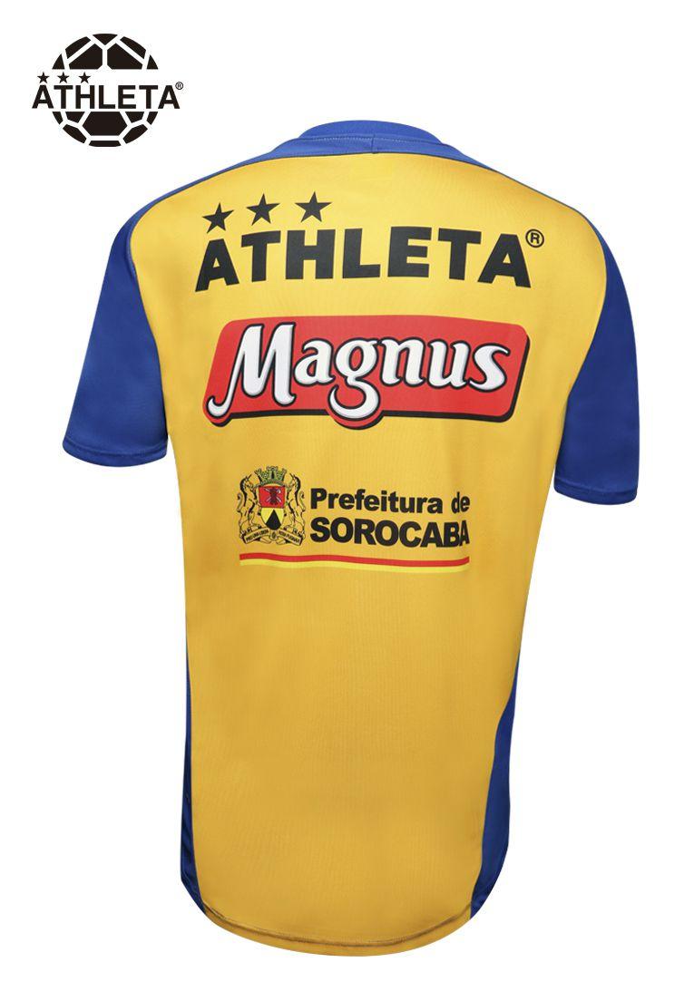 Camisa Treino Comissão Magnus 2019 Amarela