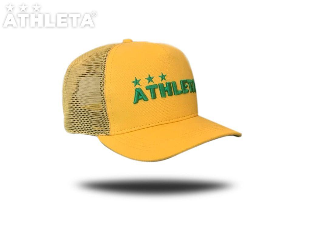 Boné ATHLETA / Redinha Amarelo