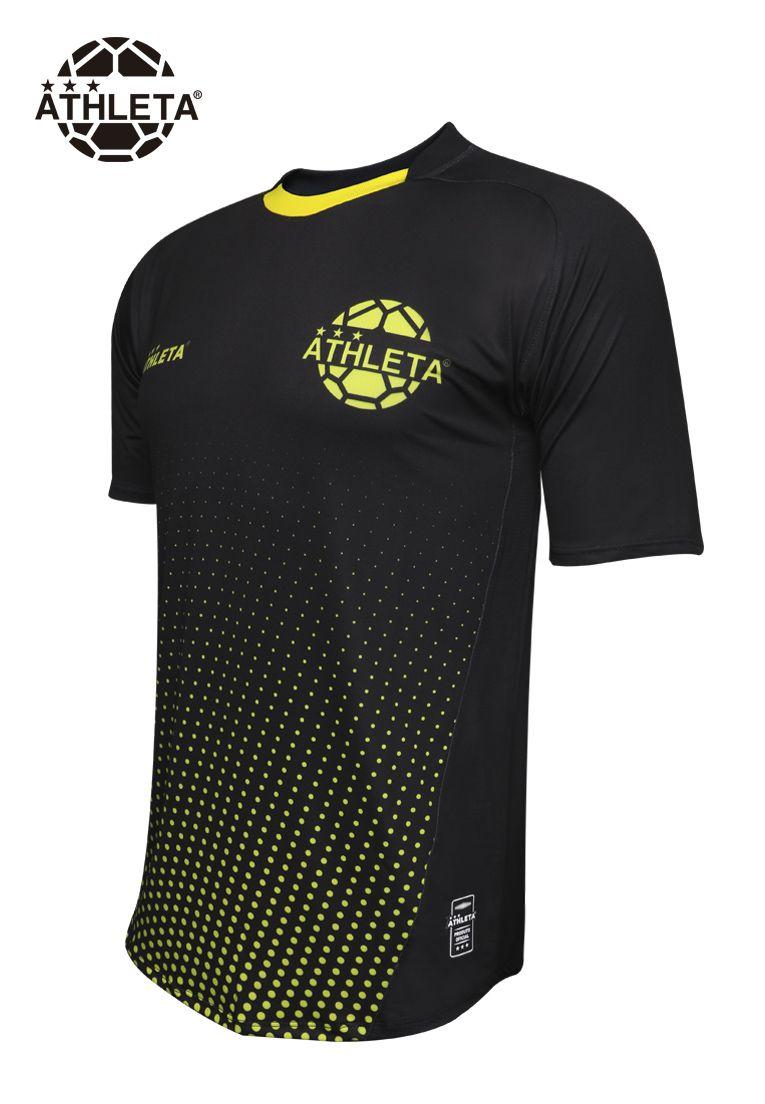 Camisa Athleta - Preta/Amarela