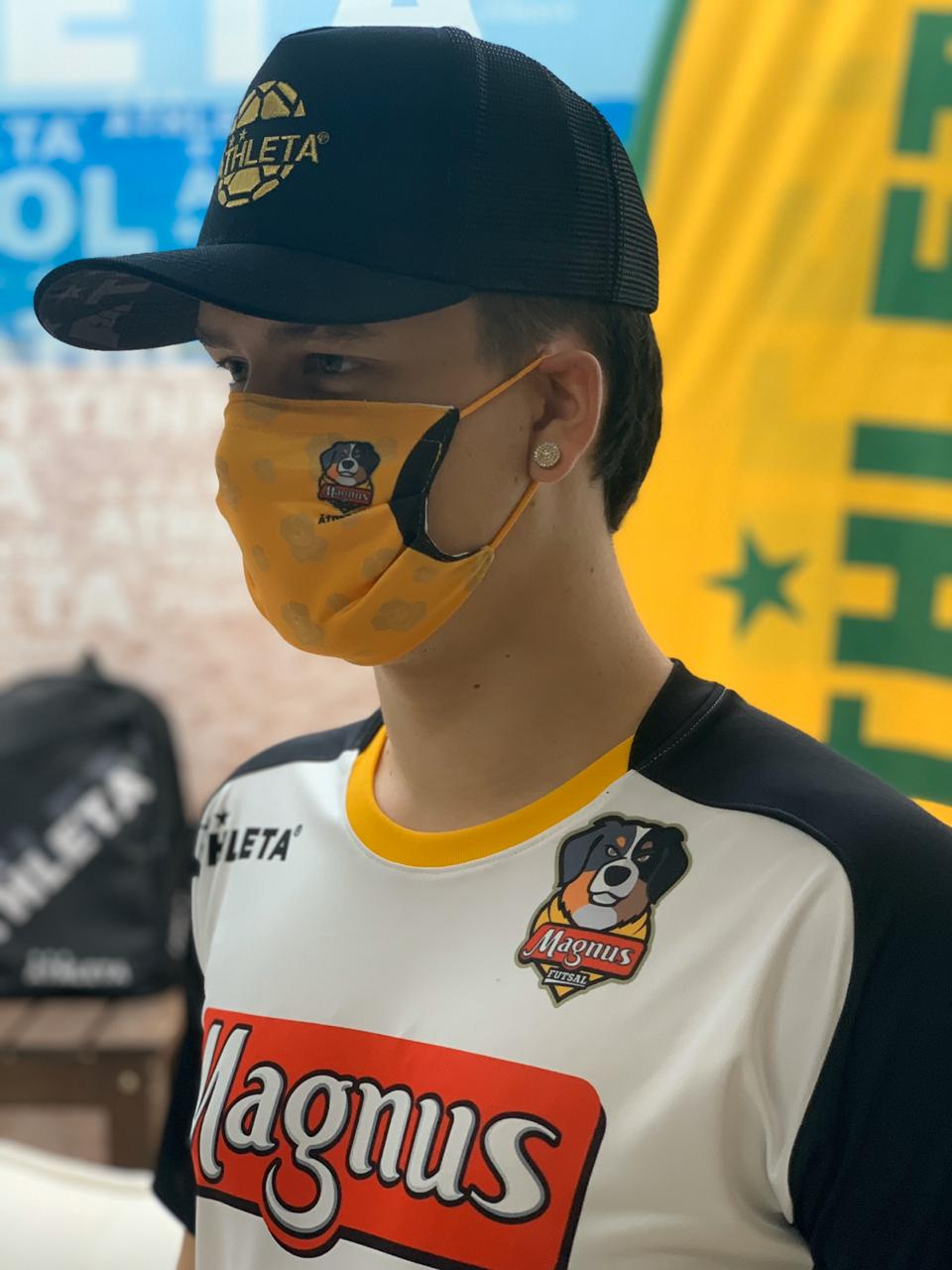 Mascara Tecido Athleta/Magnus