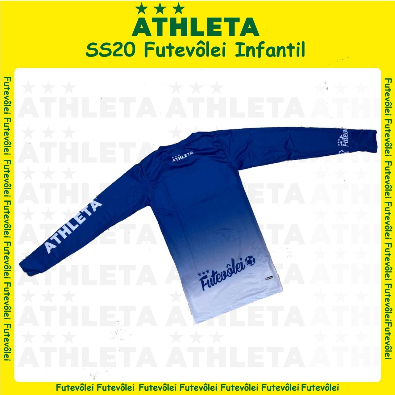 Termica Futevôlei SS20 - Infantil - Azul com Branco
