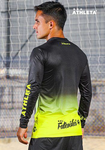 Termica Athleta SS20 Preta/Amarelo