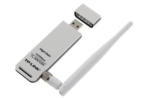 Adaptador Wireless Usb Tp-Link Tl-Wn722N 150 Mbps