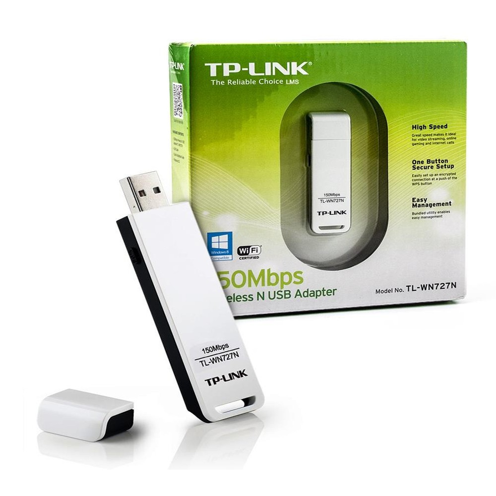 Adaptador Wireless Usb Tp-Link Tl-Wn727N 150 Mbps