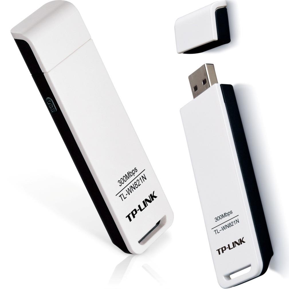 Adaptador Wireless Usb Tp-Link Tl-Wn821N 300 Mbps