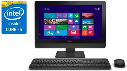 All In One Dell 3030 I5-4590S 3.0 Ghz/4Gb/500Gb/Dvd/19.5/W10Pro