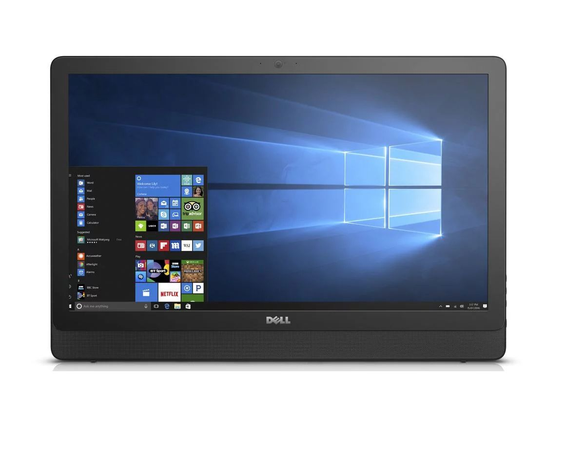 All In One Dell 3464 I3-7100 3.9Ghz| 4Gb| 1Tb| Dvd| Wifi| 24| W10Pro Branco