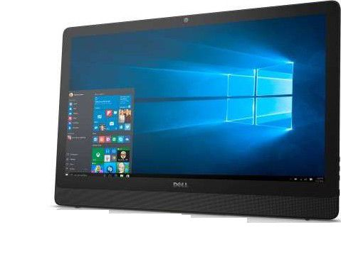 All In One Dell 3464 I5-7200U 3.1Ghz| 4Gb| Hd 1Tb| Dvd| Wifi| Tela 24| W10Home