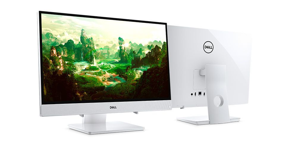 All In One Dell 3477 I7-7500U|12Gb|1Tb|24|Touch|Win10Home|Branco
