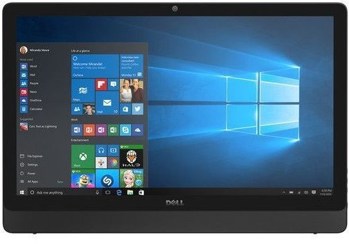 All In One Dell Inspiron 3064 I3-7100U 2.4Ghz| 4Gb| 1Tb| 19,5| W10Home| Preto