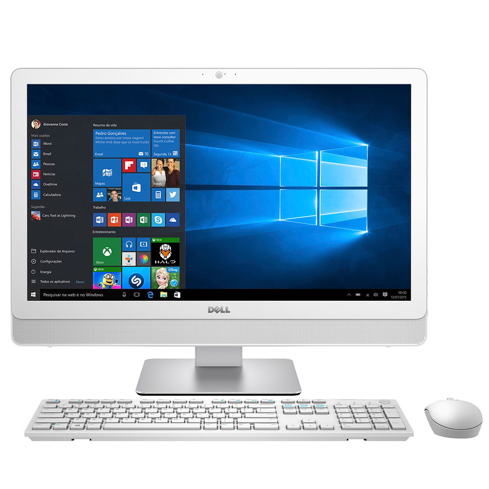 All In One Dell Inspiron 3459 I3-6100U 2.3Ghz | 4Gb | 1Tb | 24"