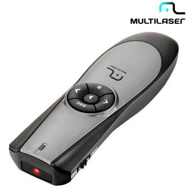 Apresentador Multilaser Sem Fio Com Laser Point 2.4Ghz - Ac164