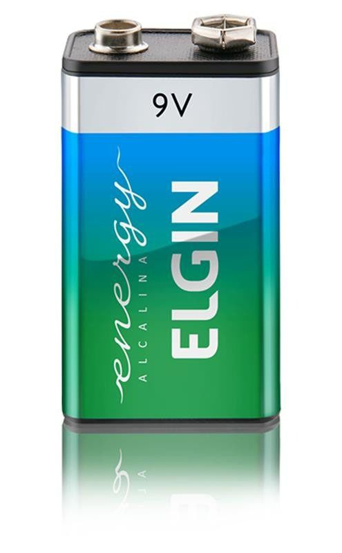 Bateria Alcalina Elgin 9V