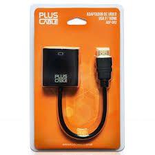 Cabo Vga F X Hdmi M Plus Cable Adp-002 Preto