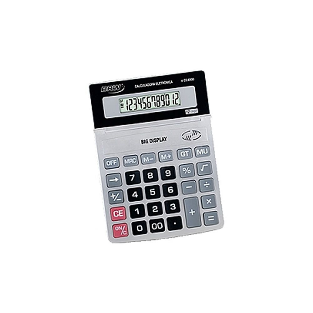 Calculadora Grande 12 Digitos Cc4000 Brw