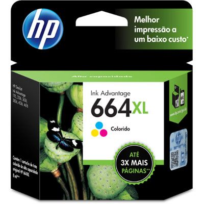 Cart Hp 664Xl Colorido