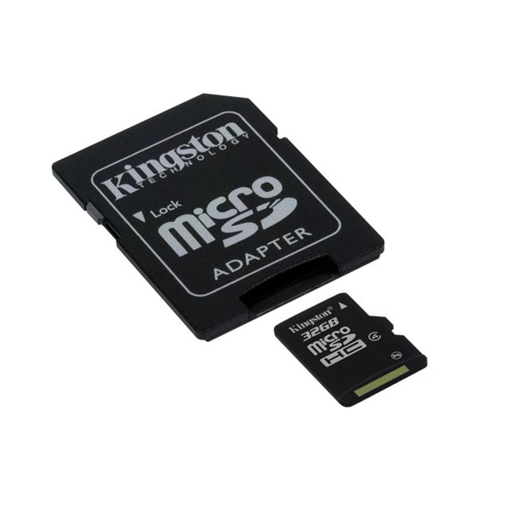 Cartao De Memoria Sd 32Gb Kingston Classe 4 Sdc4/32Gb Micro Sdhc