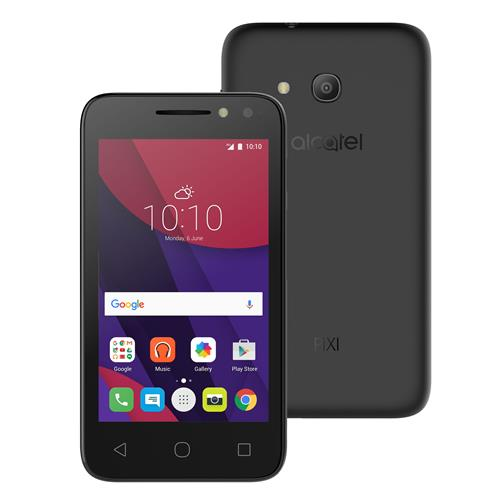 Celular Alcatel Pixi 4 Ot4034E Qc1.3|8Gb|3G|1Gb|4|8Mp|Preto